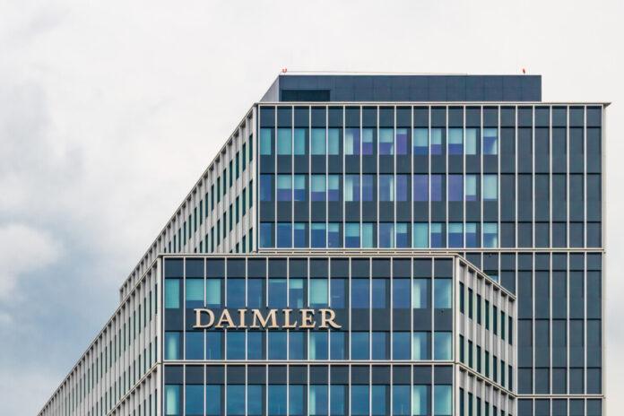 Am heutigen Handelstag liegen Daimler Aktien ganz vorne