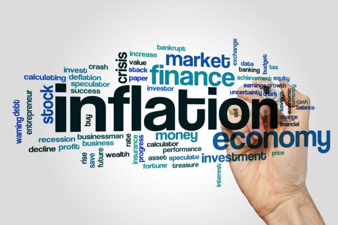 Die Inflation ist erneut unter Null